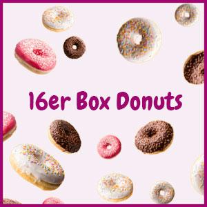 Donuts bestellen 16er Box