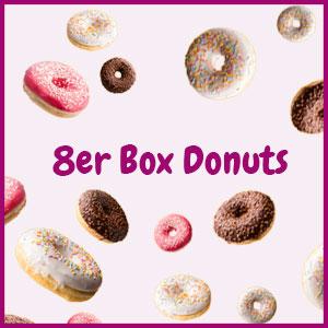 Donuts bestellen 8er Box